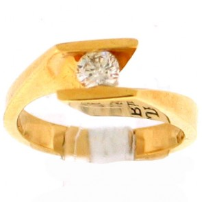 0.27ct Solitaire Engagement Ring