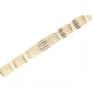9.30ct Men's Diamond Bracelet