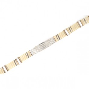 6.86ct Men's Diamond Bracelet