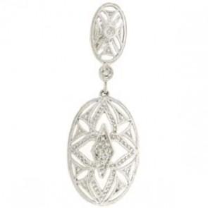 0.10ct Lady's Diamond Earrings