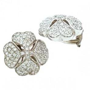 1.00ct Lady's Diamond Earrings