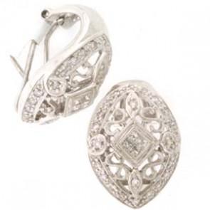 0.93ct Lady's Diamond Earrings