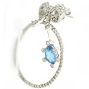 2.50ct Lady's Diamond Earrings
