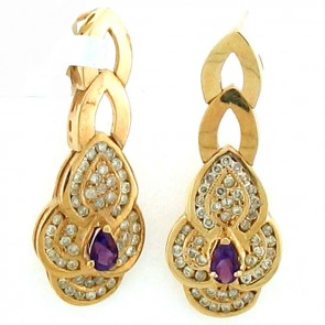 3.00ct Ladies Gemstone Earrings