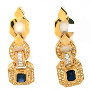 5.50ct Ladies Gemstone Earrings