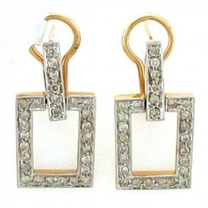 1.75ct Ladies Diamond Earrings