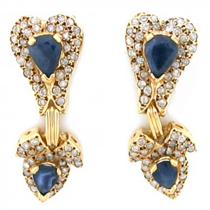 7.70ct Ladies Gemstone Earrings