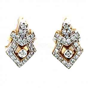 0.50ct Ladies Diamond Earrings