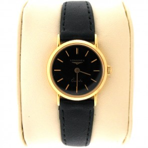 Longines Quartz Ladies 18k Gold Watch