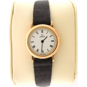 Omega De Ville 18k Gold Ladies Watch