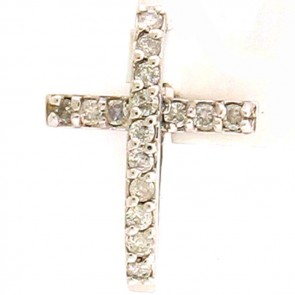 0.50ct Ladies Diamond Cross