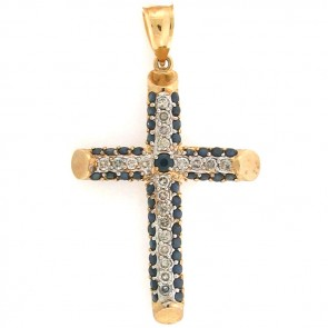 2.25ct Men's Diamond Cross