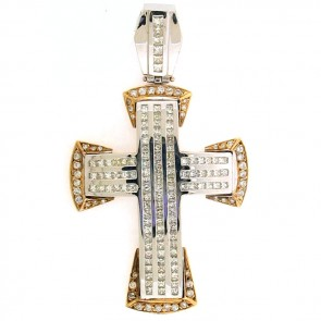 7.75ct Men's Diamond Cross