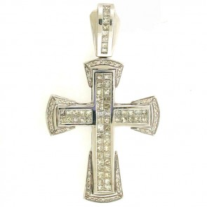 6.15ct Men's Diamond Cross