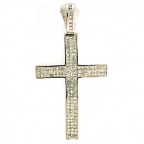 12.50ct Men's Diamond Cross