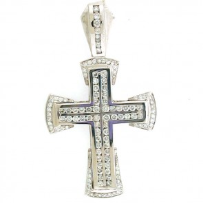 5.90ct Men's Diamond Cross