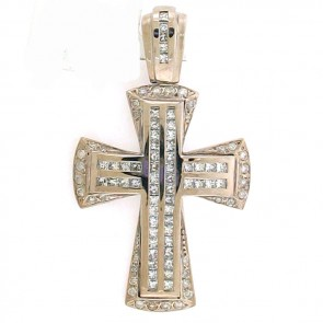 4.00ct Men's Diamond Cross