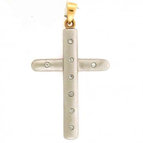 0.20ct Ladies Diamond Cross