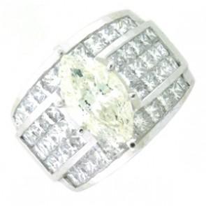 7.15ct Engagement Diamond Ring