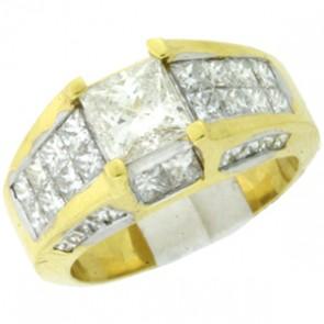 3.80ct Engagement Diamond Ring