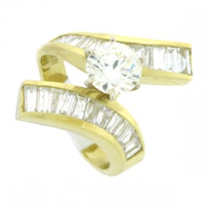 3.50ct Engagement Diamond Ring
