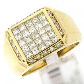 1.90ct Men's Diamond Ring