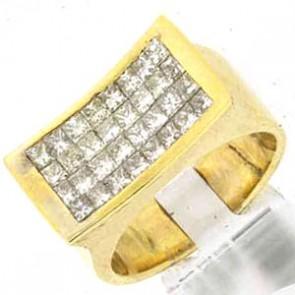 1.46ct Men's Diamond Ring