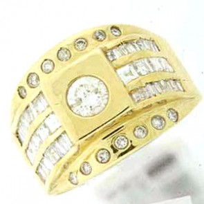 2.10ct Men's Diamond Ring