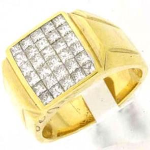 2.15ct Men's Diamond Ring