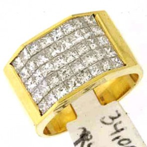 3.15ct Men's Diamond Ring