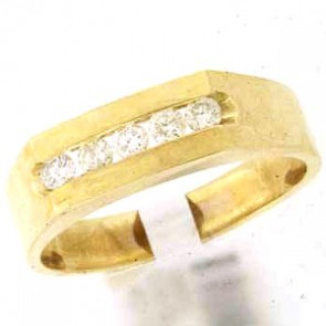 0.65ct Men's Wedding Band