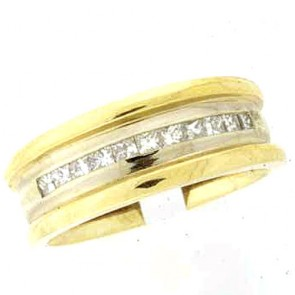 0.60ct Men's Wedding Band