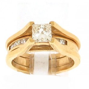 1.25ct 2pc Engagement Ring