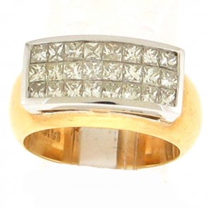 1.17ct Ladies Diamond Band