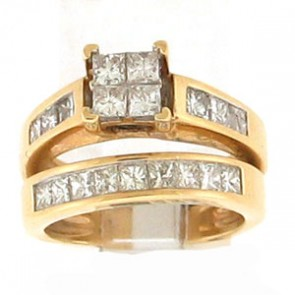 2.00ct 2pc Engagement Ring