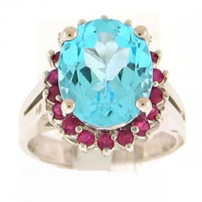 7.15ct Lady's Gemstones Ring