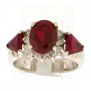 2.86ct Lady's Gemstones Ring