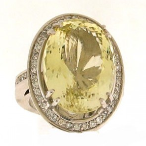 27.05ct Lady's Gemstones Ring