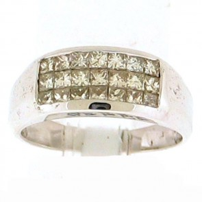 0.85ct Ladies Diamond Band